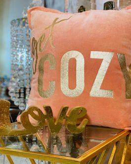 Get cozy pillow floor sample