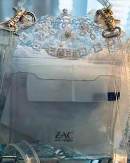 Zac Posen Convertable Backpack Clear